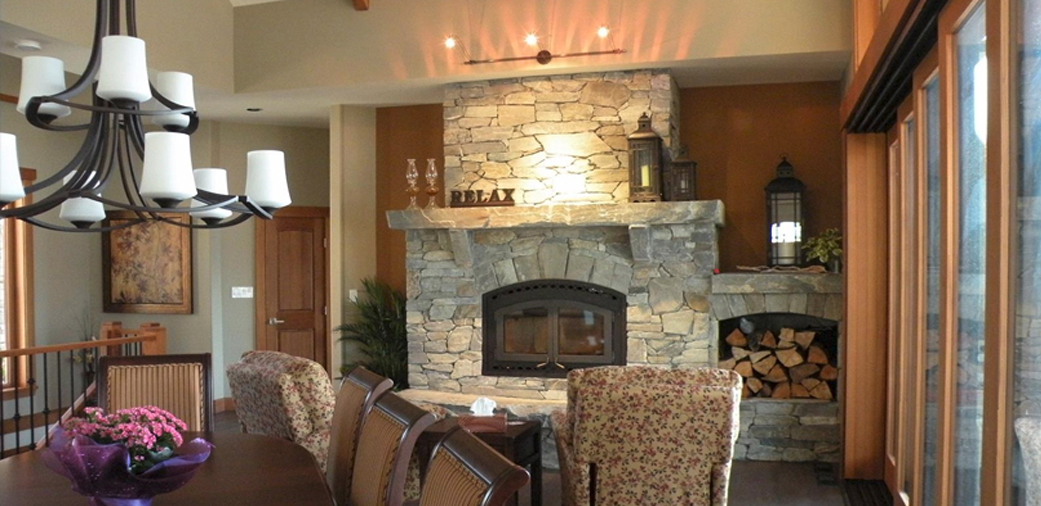 North Cowichan Fireplace Large Photo
