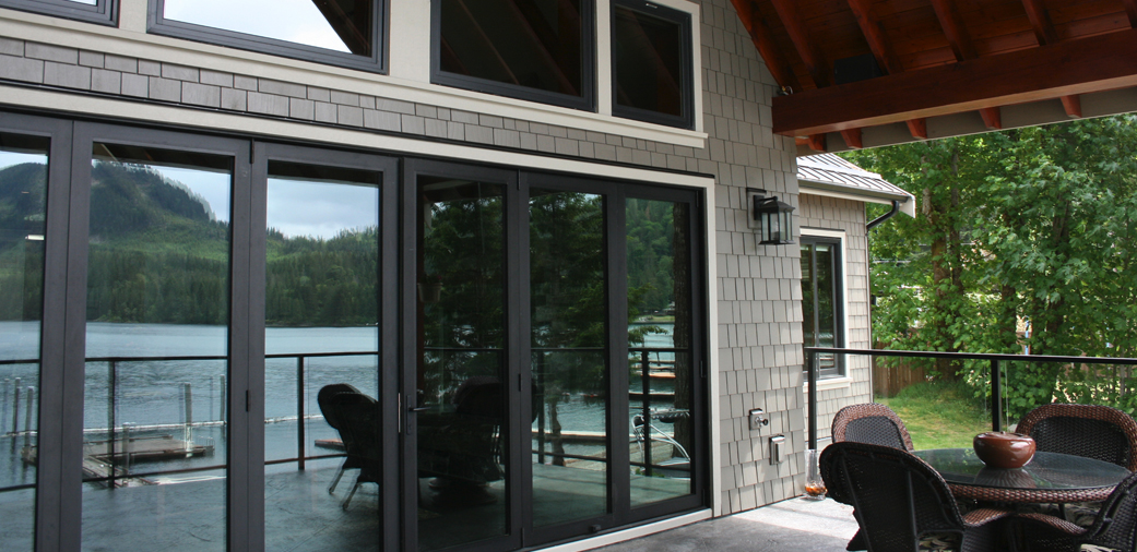 Lake Cowichan Getaway Veranda Large Photo